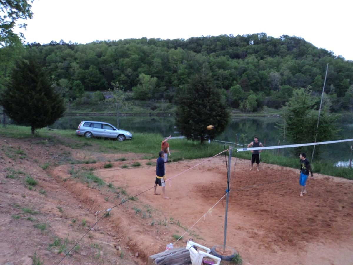 Vollyball at the Lake